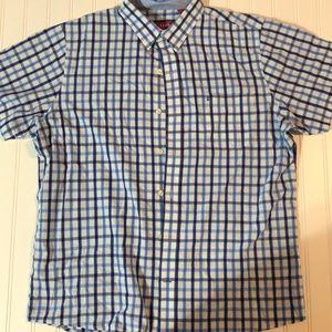 Izod Men's Large Button Up Shirt